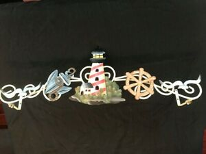 nautical curtain rods finials for