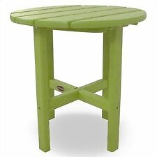 plastic round patio garden tables for