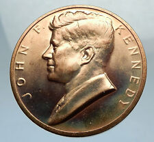 United States US President JOHN F. KENNEDY Medal w SPEECH QUOTE & SEAL i67553