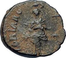 EUDOXIA Arcadius Wife 400AD Authentic Ancient Roman Coin HAND OF GOD i67717