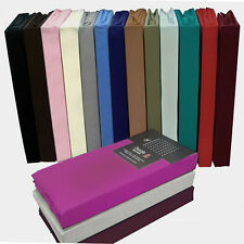 Ed Sheet Bed Single Double Super King Size Poly Cotton Mattress Cover Deep