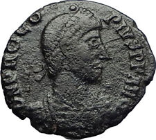 PROCOPIUS Rare Roman USURPER 365AD Constantinople Ancient Coin Chi-Rho i70714
