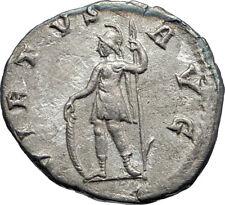 GORDIAN III 240AD Rome Ancient Authentic Genuine Silver Roman Coin VIRTUS i73176