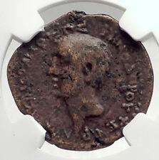 ZENODORUS & Octavian Augustus Chalcis in Coele Ancient Roman Coin NGC i72746