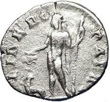 SEPTIMIUS SEVERUS  194AD Rome Silver Ancient Roman Coin LIBER Dionysos i69460
