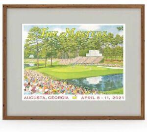 masters golf fan posters for sale ebay