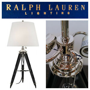 ralph lauren black table lamps for sale