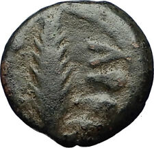 Biblical Jerusalem Saint Paul NERO Time PORCIUS FESTUS Ancient Roman Coin i69605