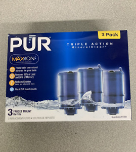 pur 3 number in pack water filters for