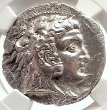 ALEXANDER III the GREAT Mint State TETRADRACHM Silver Greek Coin NGC MS i69568