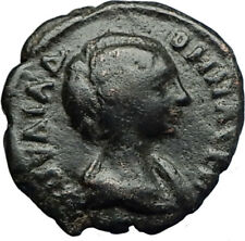 JULIA DOMNA Authentic Ancient Nicopolis ad Istrum Roman Coin w HOMONOIA i71215