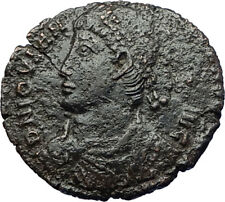 JOVIAN Authentic Ancient 363AD Heraclea Genuine Roman Coin VOWs in WREATH i71146
