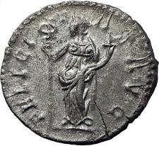 POSTUMUS  260AD Silver Authentic Ancient Roman Coin Felicitas GOOD LUCK  i65349