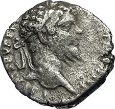 SEPTIMIUS SEVERUS 196AD Authentic Silver Ancient Roman Coin PAX Peace i67538