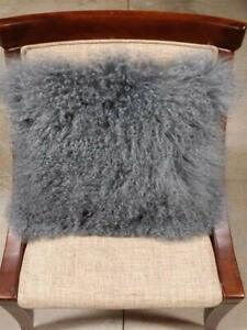 mongolian fur in home decor pillows for