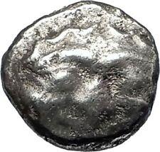 PARION in MYSIA Archaic Ancient 550BC Silver Greek Coin w GORGONEION Rare i67162