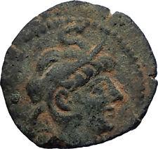 ALEXANDER II ZABINAS Authentic Ancient 128BC Seleukid Greek Coin APLUSTRE i71742