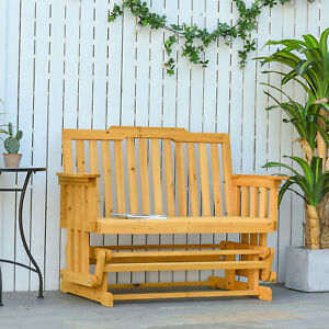 wooden glider patio chairs for sale