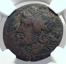MESSANA SICILY under MAMERTINI 208BC Rare R1 Apollo Warrior Greek Coin i77292