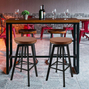 tabouret de bar industriel ebay