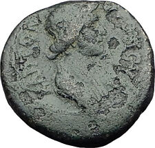 PERGAMON in Mysia 40AD Authentic Ancient Greek Coin ROMAN SENATE & ROMA i63102