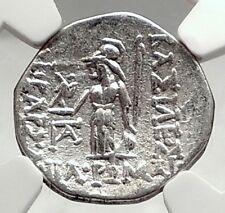 Ariobarzanes I Philoromaios Cappadocia Kingdom 85BC Silver Greek Coin NGC i72831
