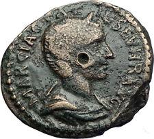 OTACILIA SEVERA Philip I Wife Deultum Thrace Ancient Roman Coin SERAPIS i71263