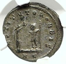AURELIAN Authentic Ancient 272AD Genuine Original Roman Coin VICTORY NGC i76295