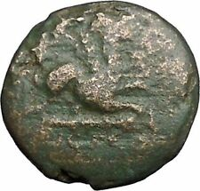 ABDERA in THRACE 345BC Apollo Griffin Protection Ancient Greek Coin i48987