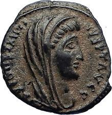 Divus Saint CONSTANTINE I the GREAT 347AD Authentic Ancient Roman Coin i67017