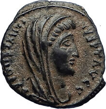 Divus Saint CONSTANTINE I the GREAT 347AD Authentic Ancient Roman Coin i67017