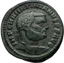 MAXIMIAN Genuine Ancient 302AD Antioch Follis Authentic Roman Coin GENIUS i67056