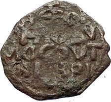 CRUSADERS of Antioch Tancred Ancient 1101AD Byzantine Time Coin St Peter i69505