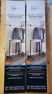 mainstays garment racks for sale ebay