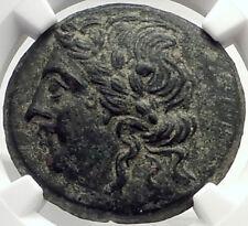 PRUSIAS I Cholos Bithynia Kingdom 228BC Authentic Ancient Greek Coin NGC i70147