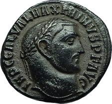 MAXIMINUS II Daia 311AD Authentic Ancient Roman Antioch Coin w GENIUS i66467