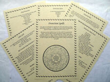 Buy Wiccan Spell Book in Pagan   Wiccan Items   eBay 13 Protection Spells BOOK OF SHADOWS PAGE SET wicca print parchment spell  ritual