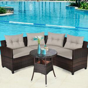 costway patio garden furniture sets