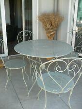 table fer ancienne jardin en vente ebay