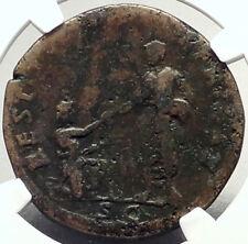 HADRIAN Restores AFRICA 134AD Sestertius RESTITVTORI AFRICAE Roman Coin i69318
