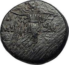 AMISOS in PONTUS 105BC Mithradates VI the Great GORGON NIKE Greek Coin i67366