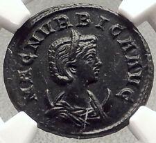 MAGNIA URBICA wifeof CARINUS 285AD Authentic Ancient Roman Coin VENUS NGC i69591