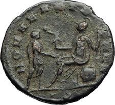 AURELIAN Authentic Ancient 271AD MILAN Genuine Original Roman Coin ROMA i71187