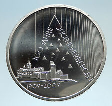2009 GERMANY with Pyramid Theme Youth Hostels Genuine Silver 10 Euro Coin i75194