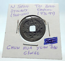 976AD CHINESE Northern Song Dynasty Antique TAI ZONG Cash Coin of CHINA i75366