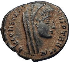 Divus Saint CONSTANTINE I the GREAT 347AD Authentic Ancient Roman Coin i67096