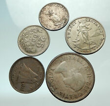 GROUP LOT of 5 Old SILVER Europe or Other WORLD Coins for your COLLECTION i75692