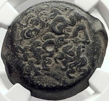 PTOLEMY V EPIPHANES Authentic Ancient 204BC Greek Egypt Coin w ZEUS NGC i70011