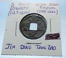 1195AD CHINESE Southern Song Dynasty Genuine NING ZONG Cash Coin of CHINA i72561