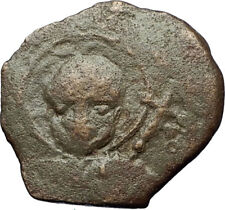 CRUSADERS of Antioch Tancred Ancient 1101AD Byzantine Time Coin St Peter i69527